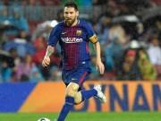 Messi 3 tháng đá 1980 phút: Sắp  hết xăng  trước Siêu kinh điển
