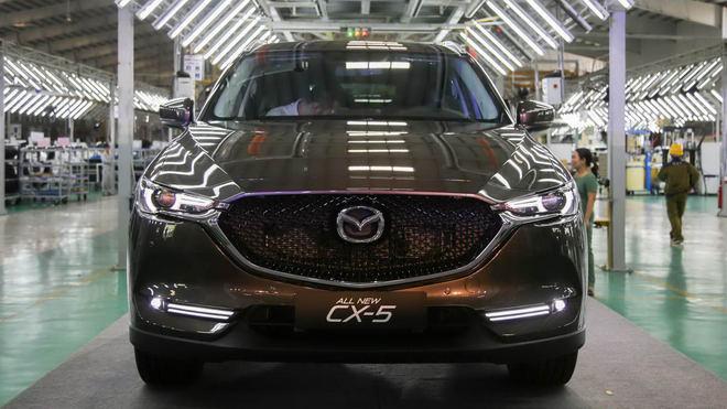 Mazda CX-5 2017 ra mắt Việt Nam, giá từ 879 triệu đồng - 4