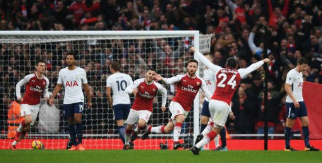 """Arsenal - Tottenham: Bàng hoàng vì 2 """"cú đấm"""" hạng nặng"""