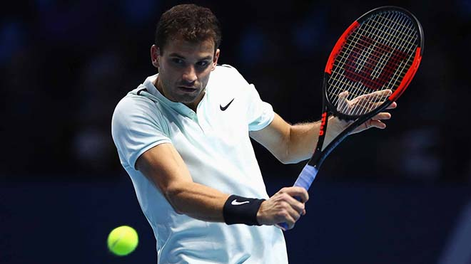 """Busta - Dimitrov: """"Kẻ đóng thế"""" Nadal & 2 set hủy diệt (ATP Finals) 1"""