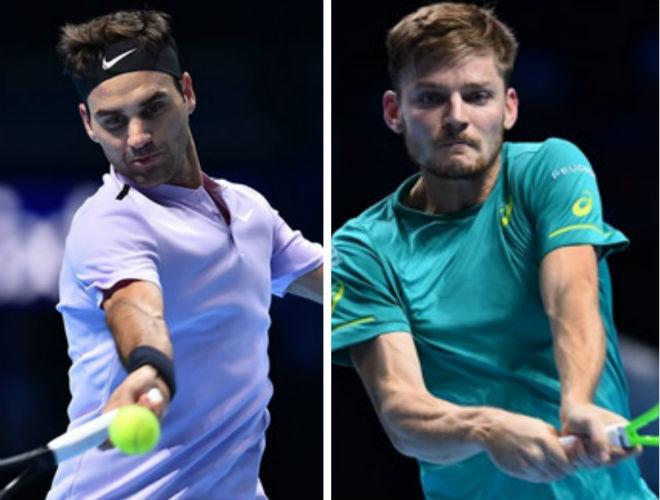 Federer - Goffin: Màn ngược dòng không tưởng (Bán kết ATP Finals) 1