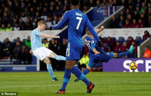 Chi tiết Leicester - Man City: Đẳng cấp vượt trội (KT) 22