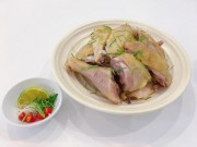 Bí quyết cho món gà hấp lá chanh mềm dai, ngọt thịt ngon không cưỡng nổi