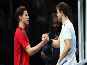 Busta - Dimitrov:  Kẻ đóng thế  Nadal  & amp; 2 set hủy diệt (ATP Finals)