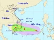 Bão số 14 hướng vào đất liền, Khánh Hòa đến Bình Thuận sắp mưa to