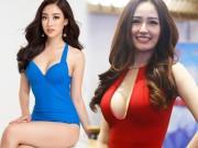 """"""" Bóc """"  số đo vòng 1 thật sự của Mai Phương Thúy, Đỗ Mỹ Linh"""