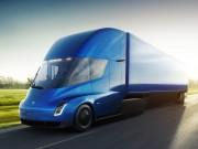 Xe đầu kéo Tesla tăng tốc nhanh như siêu xe