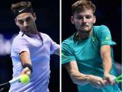 Federer - Goffin: Màn ngược dòng không tưởng (Bán kết ATP Finals)