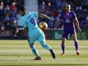 """Leganes - Barcelona: Siêu anh hùng ngày Messi  """" vô hình """""""