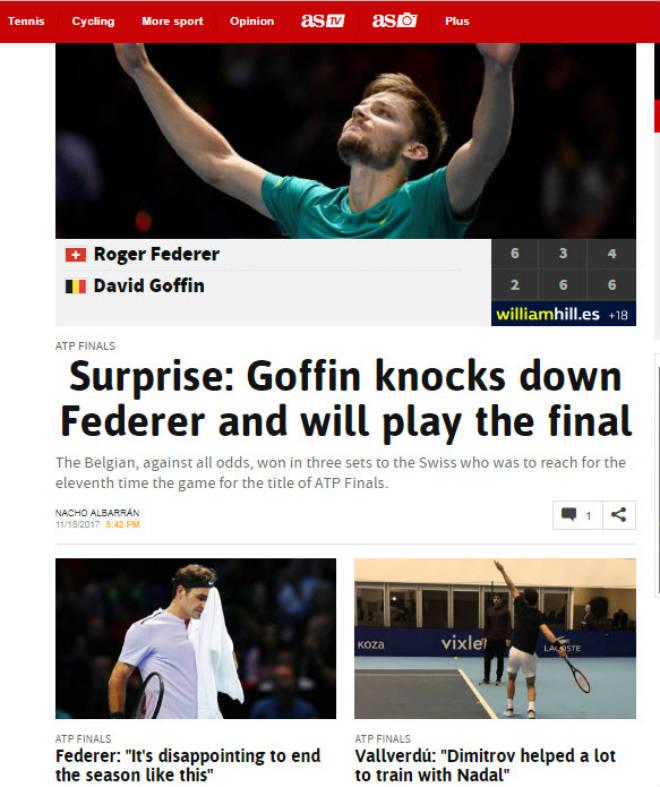 """Federer """"vỡ mộng"""" ATP Finals: Báo chí sốc nặng, gửi lời chia buồn 2"""