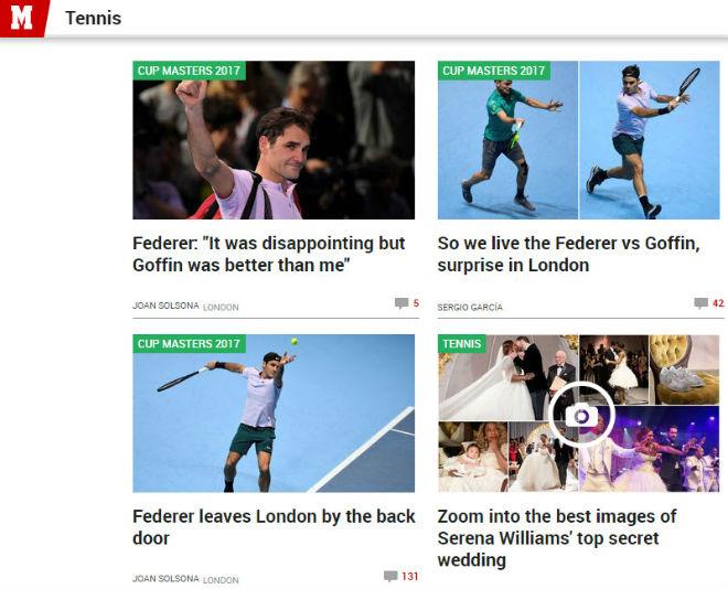 """Federer """"vỡ mộng"""" ATP Finals: Báo chí sốc nặng, gửi lời chia buồn 3"""