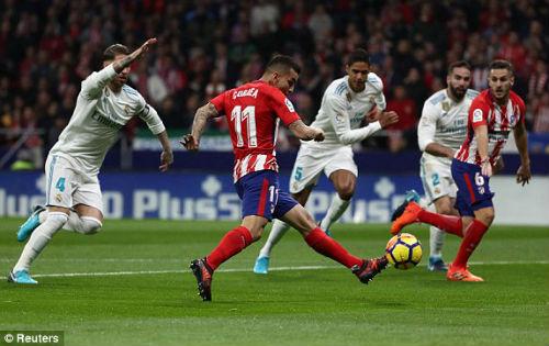 Chi tiết Atletico Madrid - Real Madrid: Chiến quả thất vọng (KT) - 3