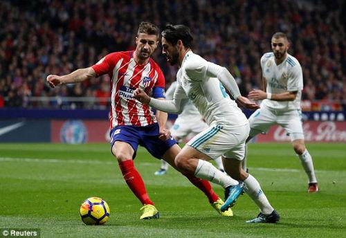 Chi tiết Atletico Madrid - Real Madrid: Chiến quả thất vọng (KT) - 4