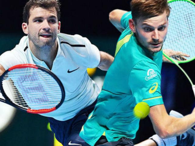 """Chung kết ATP Finals: Federer """"nhập"""" Dimitrov, quả cú như thần 1"""