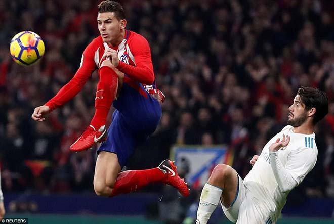 """Góc chiến thuật Atletico - Real: Zidane hết duyên, """"Kền kền trắng"""" sa lầy - 2"""