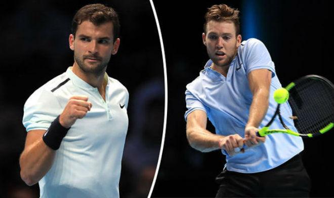 Dimitrov - Sock: Nghẹt thở đến phút cuối (Bán kết ATP Finals) 1