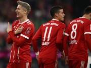 """Bayern Munich -  Augsburg:  """" Đại pháo """"  tỏa sáng  &  cột mốc vĩ đại"""