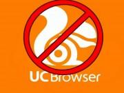 Trình duyệt UC Browser đình đám bị xóa sổ khỏi Google Play
