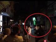 Hà Nội: Tài xế nhấn ga ủi nát cửa nhà hàng xóm trong đêm