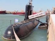 Tàu ngầm Argentina cùng 44 thủy thủ mất tích bí ẩn