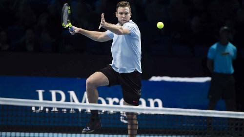 Chi tiết Dimitrov - Jack Sock: Vinh quang xứng đáng (Bán kết ATP Finals) (KT) 6
