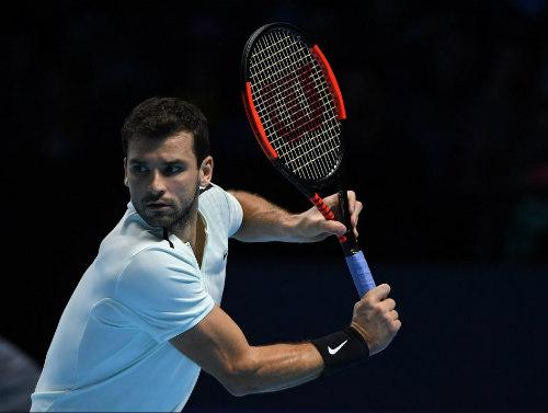 Chi tiết Dimitrov - Jack Sock: Vinh quang xứng đáng (Bán kết ATP Finals) (KT) 9
