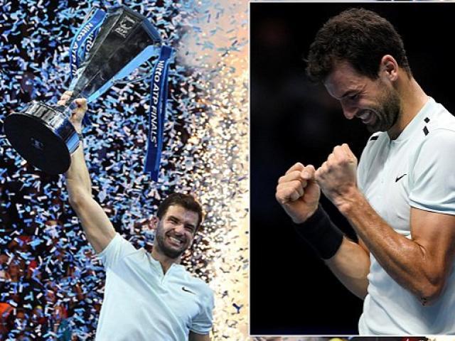 """Dimitrov lập kỉ lục ATP Finals: Báo chí ngợi ca """"nhạc trưởng"""" đại tài 7"""