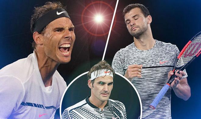 Bảng xếp hạng tennis 20/11: Federer áp sát Nadal, Dimitrov đại phá top 3 1