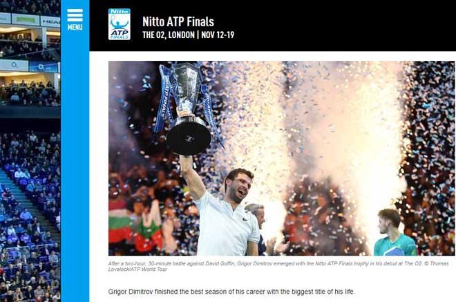 """Dimitrov lập kỉ lục ATP Finals: Báo chí ngợi ca """"nhạc trưởng"""" đại tài 1"""