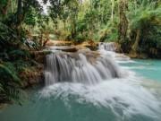 Ghé thăm dòng thác đẹp mê mẩn ở Lào