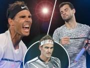 Bảng xếp hạng tennis 20/11: Federer áp sát Nadal, Dimitrov đại phá top 3