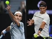 """Siêu phẩm ATP Finals: Bị giỡn mặt, Federer - Nadal ra đòn  """" hủy diệt """""""