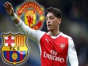 Tin HOT bóng đá tối 20/11: Barcelona tranh Ozil với MU