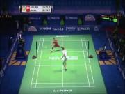"""Cầu lông đỉnh cao: Chen Long ra vợt  """" như thần """"  hạ  """" siêu nhân """"  Axelsen"""