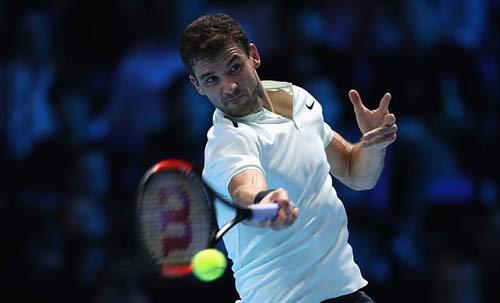 Chi tiết Dimitrov - Goffin: Cống hiến 3 set (KT) (Chung kết ATP Finals) 5