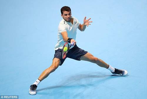 Chi tiết Dimitrov - Goffin: Cống hiến 3 set (KT) (Chung kết ATP Finals) 7