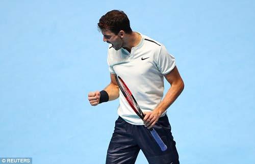 Chi tiết Dimitrov - Goffin: Cống hiến 3 set (KT) (Chung kết ATP Finals) 6