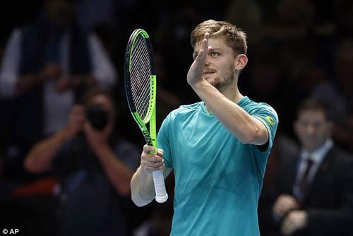 Chi tiết Dimitrov - Goffin: Cống hiến 3 set (KT) (Chung kết ATP Finals) 3