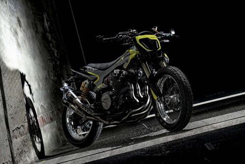 Soi Yamaha XJR 1300 Mya dành riêng cho tay đua MotoGP