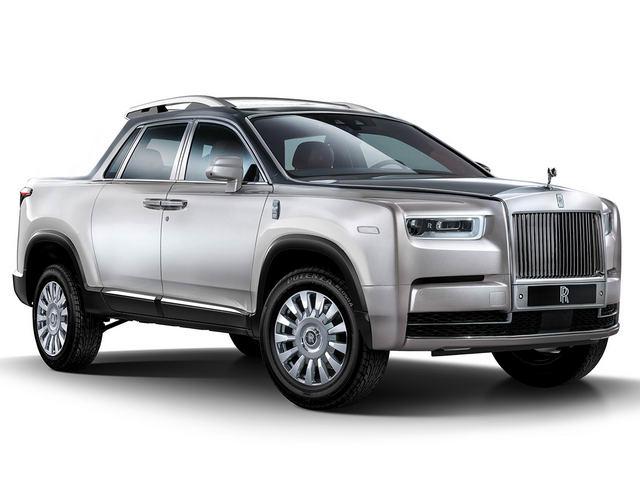 Sửng sốt với xe bán tải Rolls-Royce - 3