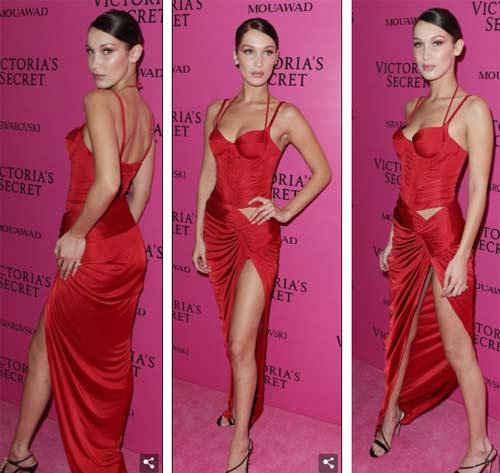 Hot girl Hollywood tái diễn lại sự cố váy xẻ hiểm tại thảm hồng - 2