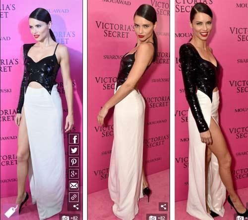 Hot girl Hollywood tái diễn lại sự cố váy xẻ hiểm tại thảm hồng - 6