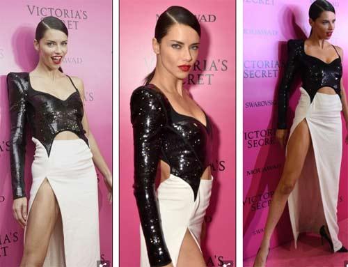 Hot girl Hollywood tái diễn lại sự cố váy xẻ hiểm tại thảm hồng - 7