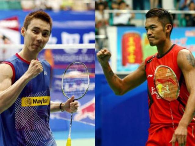 """Cầu lông: Lin Dan, Lee Chong Wei bỏ nhỏ vi diệu, đối thủ """"than trời"""" 2"""