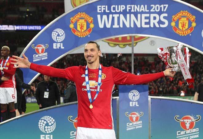 """Ibrahimovic mất ngai: Mourinho khích """"Sư tử già"""", thách vô địch C1 3"""