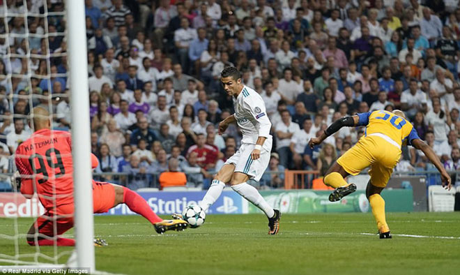 "APOEL Nicosia - Real Madrid: ""Hổ dữ"" Ronaldo khoe nanh vuốt - 2"