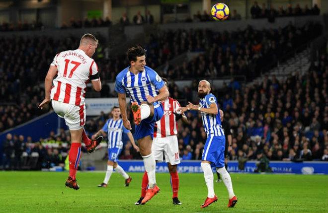 Brighton - Stoke City: Rượt đuổi hấp dẫn, 4 bàn mãn nhãn (Vòng 12 Ngoại hạng Anh) 1