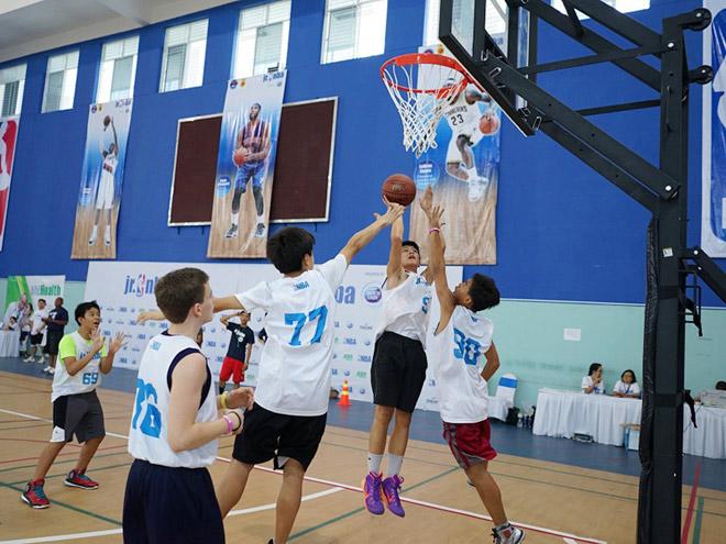 Vượt qua 5000 thí sinh, 16 tài năng nhí tiếp cận bóng rổ thế giới 1
