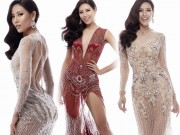 Nguyễn Thị Loan mặc mỏng manh như sương thi Hoa hậu Hoàn vũ