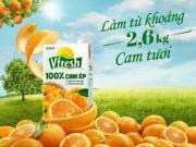 Nước trái cây Vfresh 100% - Nguồn vitamin tự nhiên cho những người bận rộn